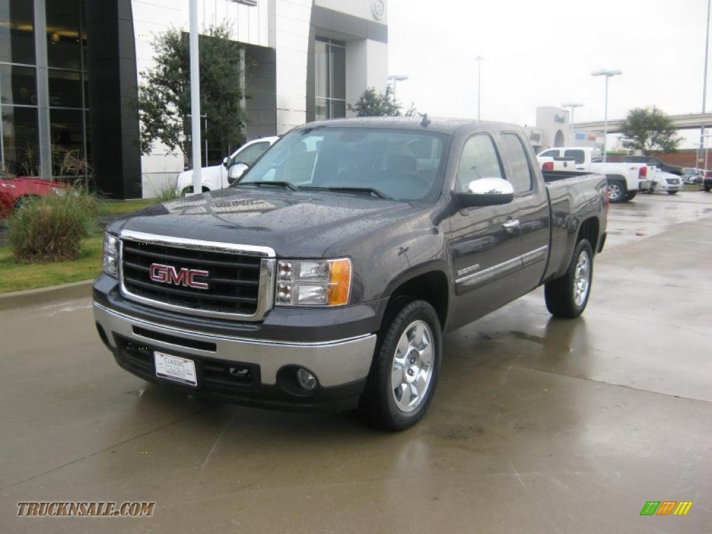 2011 gmc sierra 1500 sle extended cab 4x4 in storm gray metallic