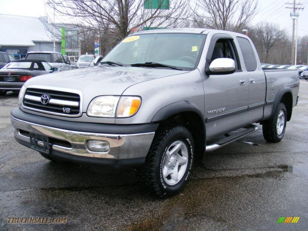 2002 toyota tundra sr5 trd access cab 4x4 in silver sky metallic 303013 truck n 39 sale. Black Bedroom Furniture Sets. Home Design Ideas