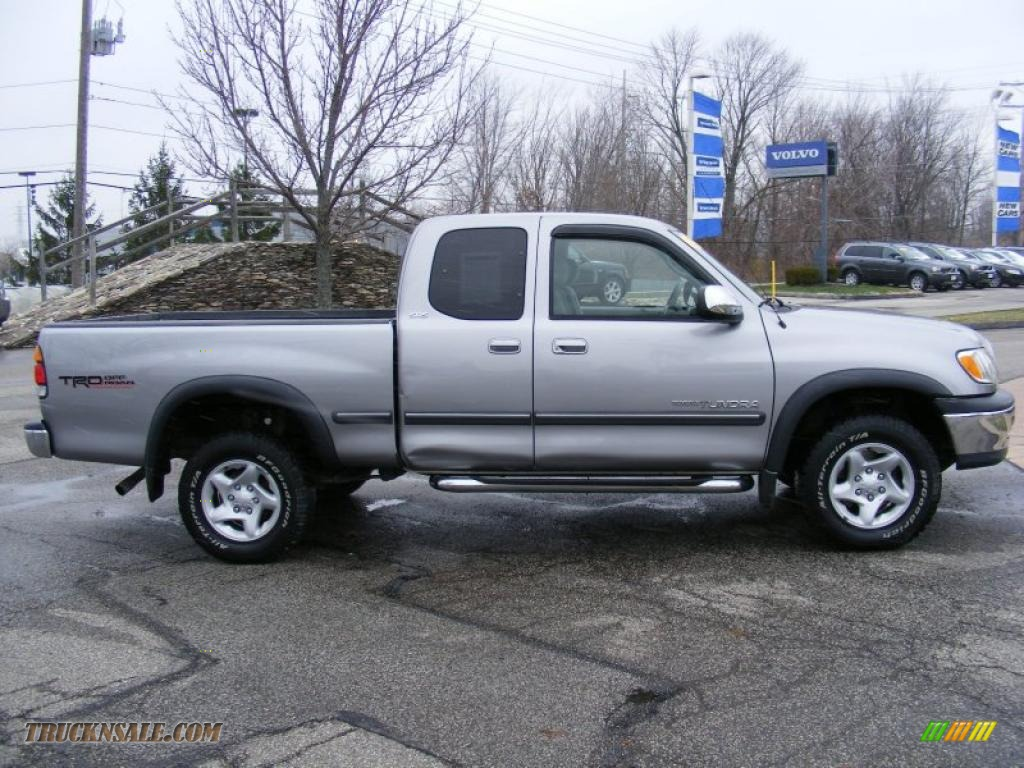 2002 toyota tundra sr5 trd access cab 4x4 in silver sky metallic photo 6 303013 truck n 39 sale. Black Bedroom Furniture Sets. Home Design Ideas