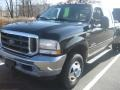Ford F350 Super Duty Lariat Crew Cab 4x4 Dually Black photo #5