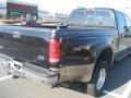 Ford F350 Super Duty Lariat Crew Cab 4x4 Dually Black photo #9