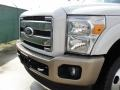 Ford F350 Super Duty King Ranch Crew Cab 4x4 Dually White Platinum Tri-Coat Metallic photo #9