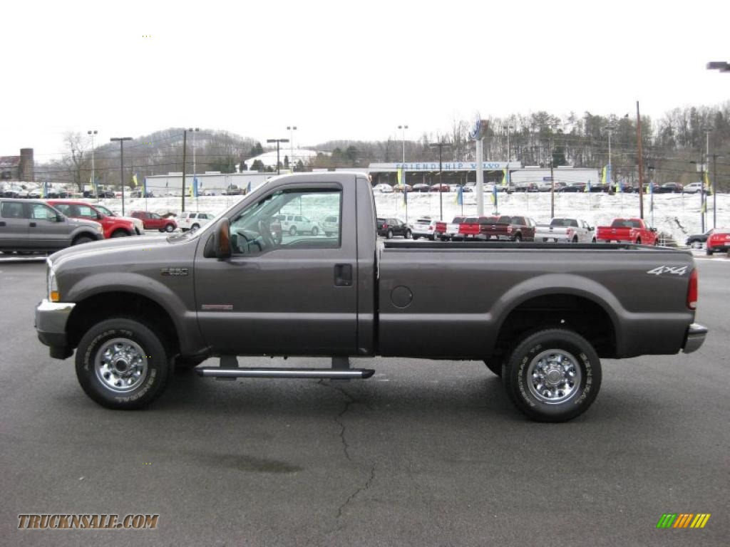 2004 Ford F250 Super Duty Xlt Regular Cab 4x4 In Dark Shadow Grey Metallic B62908 Truck N Sale