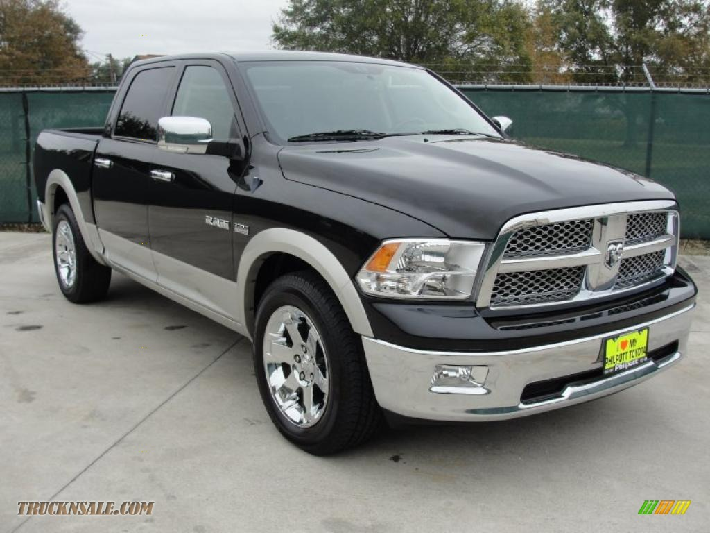 2009 dodge ram 1500 laramie crew cab in brilliant black crystal pearl 779138 truck n 39 sale - Crew cab dodge ram ...