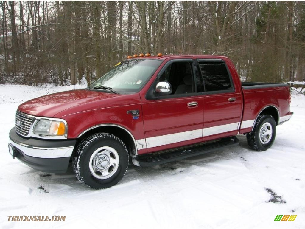 2002 ford f150 xlt supercrew in toreador red metallic. Black Bedroom Furniture Sets. Home Design Ideas
