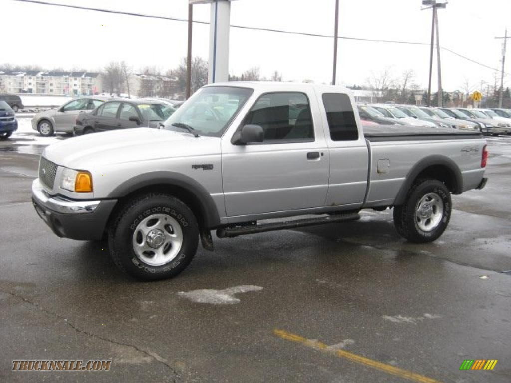2001 Ford Ranger Xlt Supercab 4x4 In Silver Frost Metallic