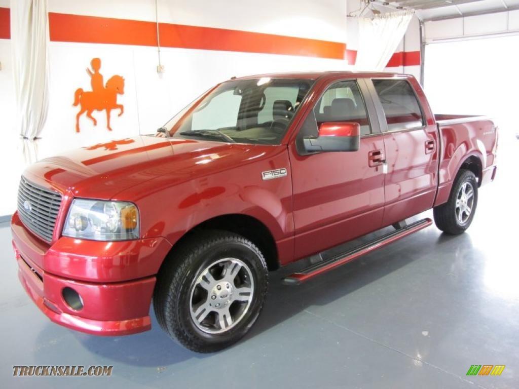 2007 ford f150 fx2 sport supercrew in redfire metallic d30665 truck n 39 sale. Black Bedroom Furniture Sets. Home Design Ideas
