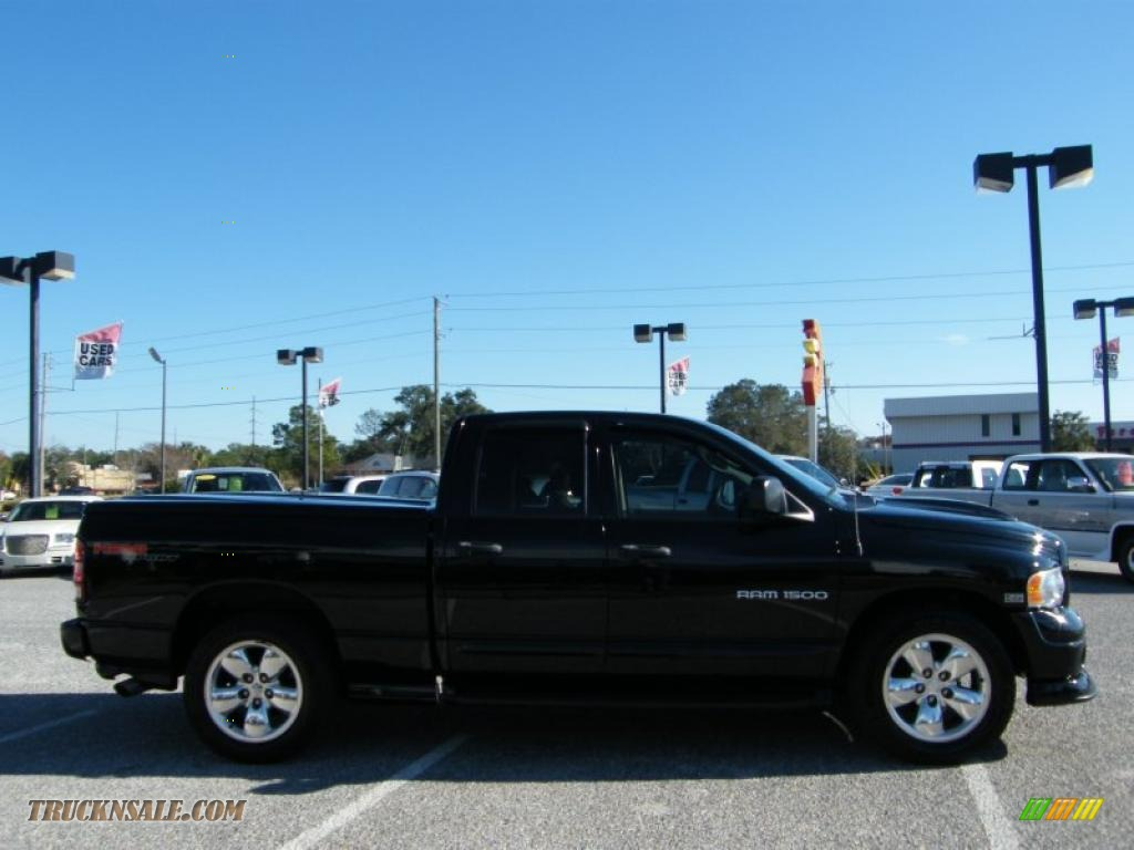 2004 Dodge Ram 1500 Sport Quad Cab In Black Photo 5