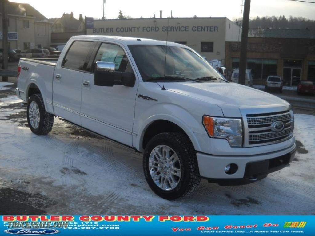 2011 ford f150 platinum supercrew 4x4 in white platinum metallic tri coat a37144 truck n 39 sale. Black Bedroom Furniture Sets. Home Design Ideas