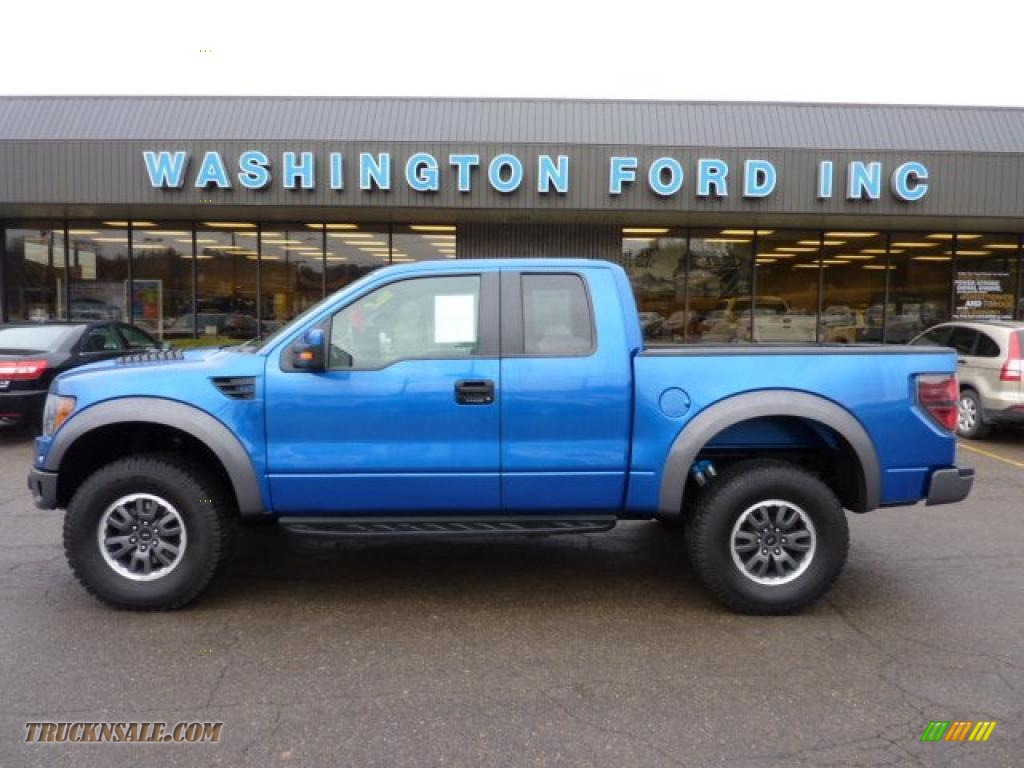 2010 ford f150 svt raptor supercab 4x4 in blue flame metallic photo 10 a41214 truck n 39 sale. Black Bedroom Furniture Sets. Home Design Ideas