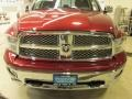 Dodge Ram 1500 Laramie Quad Cab 4x4 Deep Cherry Red Crystal Pearl photo #2