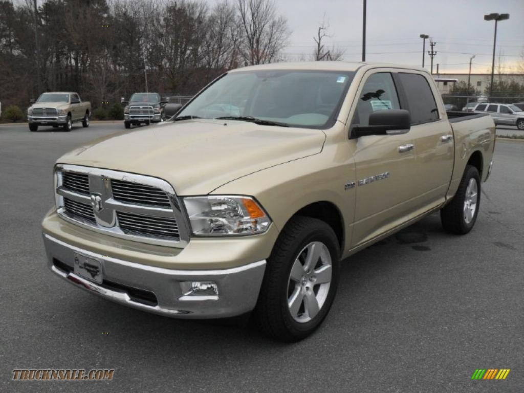 2011 Dodge Ram 1500 Big Horn Crew Cab 4x4 In White Gold