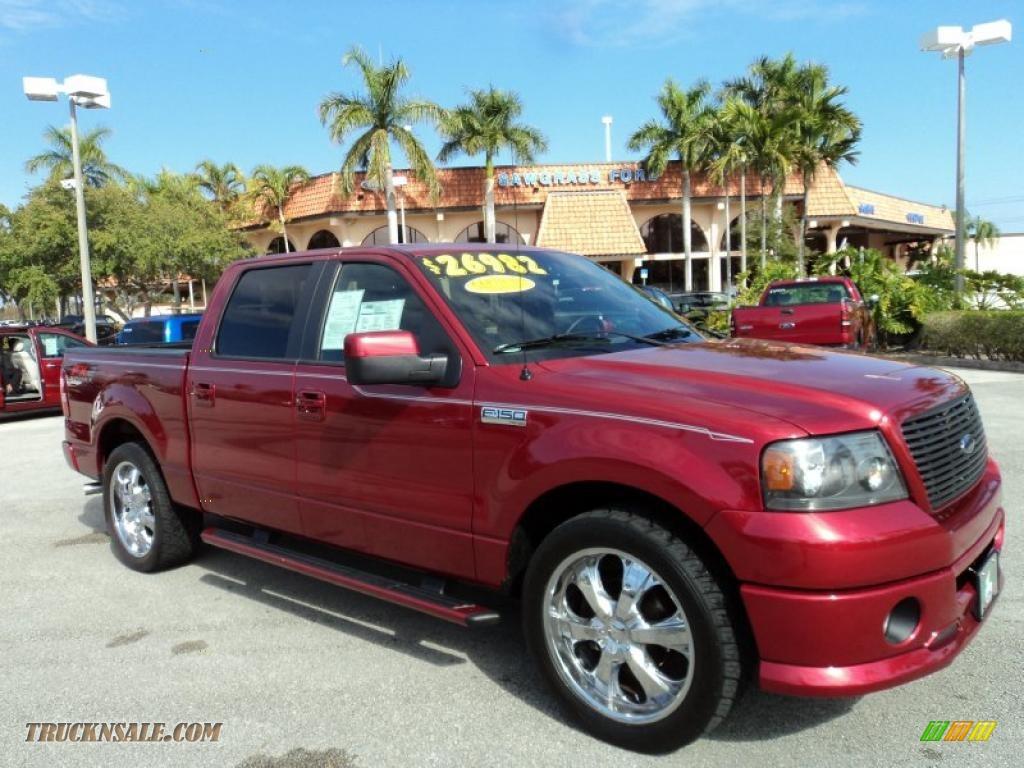 2008 ford f150 fx2 sport supercrew in redfire metallic b72166 truck n 39 sale. Black Bedroom Furniture Sets. Home Design Ideas
