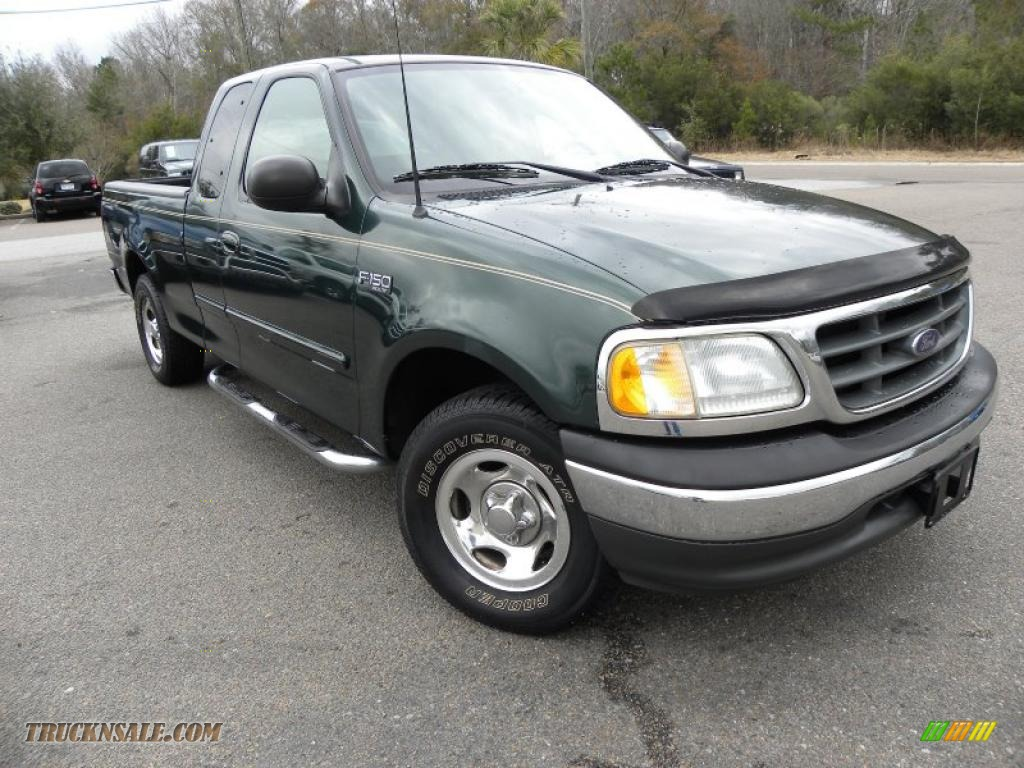 2003 Ford F150 Xlt Supercab In Dark Highland Green