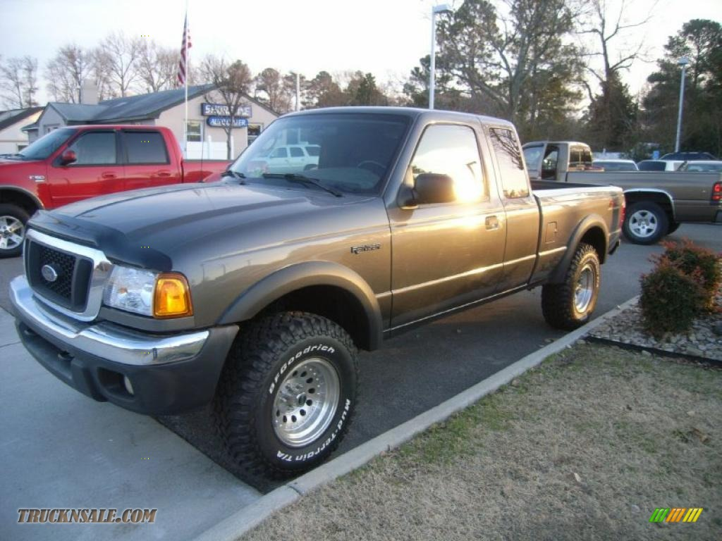 2005 ford ranger fx4 off road supercab 4x4 in dark shadow. Black Bedroom Furniture Sets. Home Design Ideas