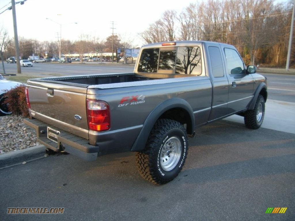 2005 Ford Ranger Fx4 Off Road Supercab 4x4 In Dark Shadow
