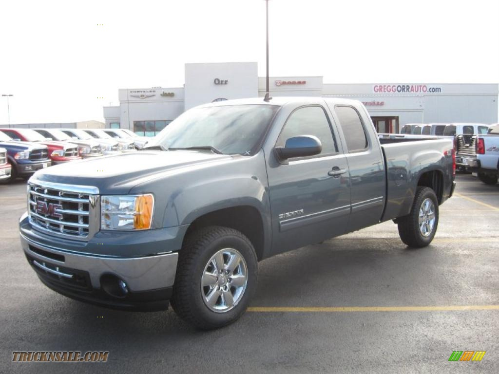 2011 Gmc Sierra 1500 Slt Extended Cab 4x4 In Stealth Gray