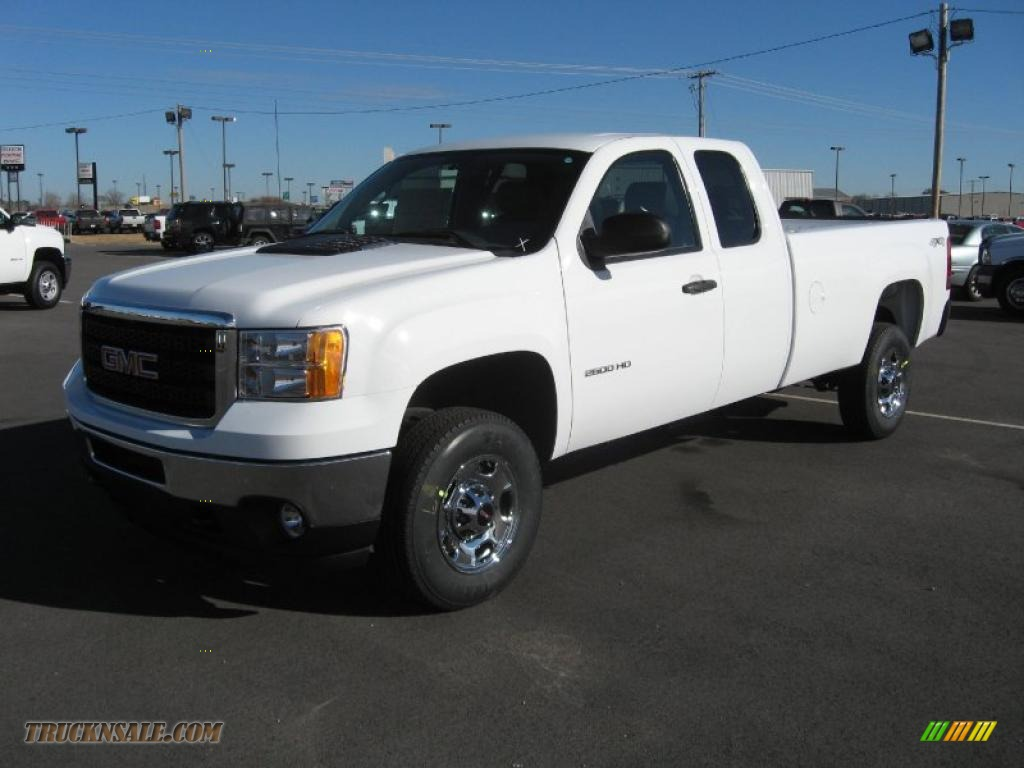 2011 gmc sierra 2500hd work truck extended cab 4x4 in. Black Bedroom Furniture Sets. Home Design Ideas