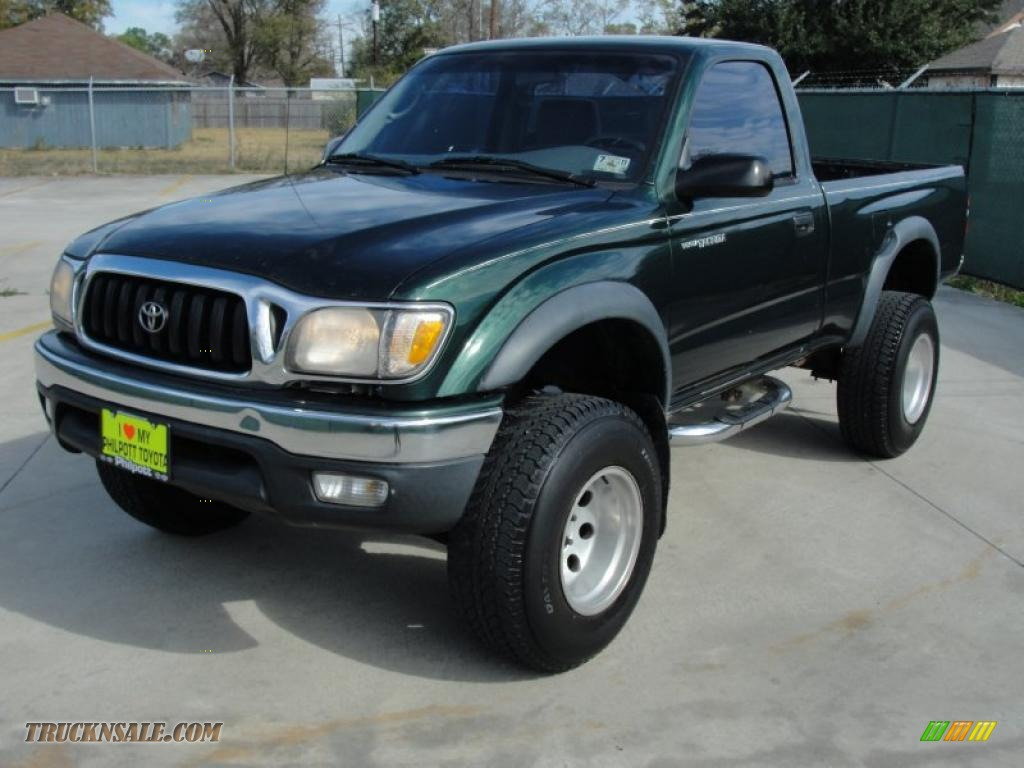 2001 toyota tacoma prerunner regular cab in imperial jade green mica photo 7 743673 truck n. Black Bedroom Furniture Sets. Home Design Ideas