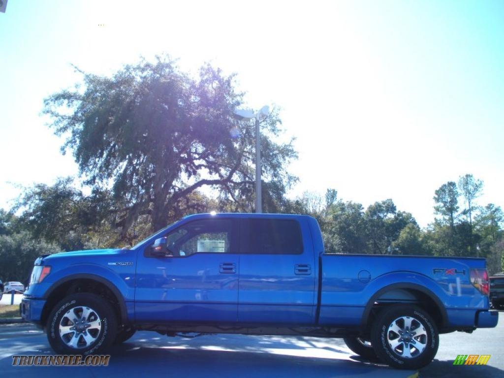 2011 Ford F150 Fx4 Supercrew 4x4 In Blue Flame Metallic