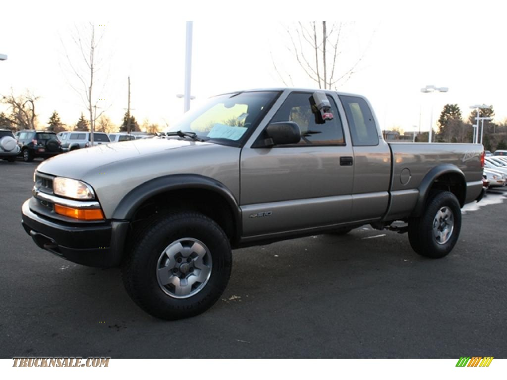 2003 Chevrolet S10 ZR2 Extended Cab 4x4 in Light Pewter ...