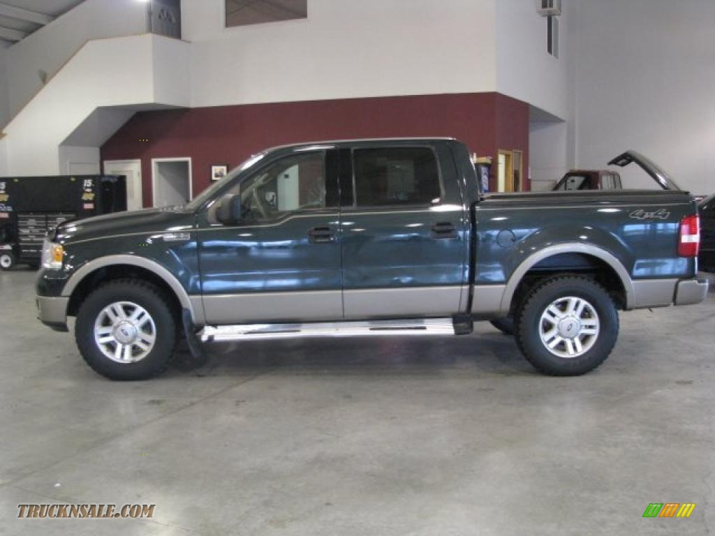 2004 ford f150 lariat supercrew 4x4 in aspen green. Black Bedroom Furniture Sets. Home Design Ideas
