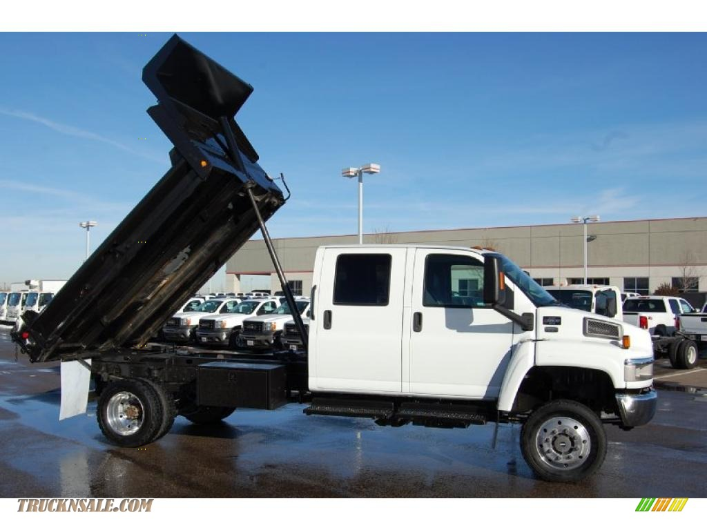 Images of Gmc C5500 4x4 Dump Truck For Sale