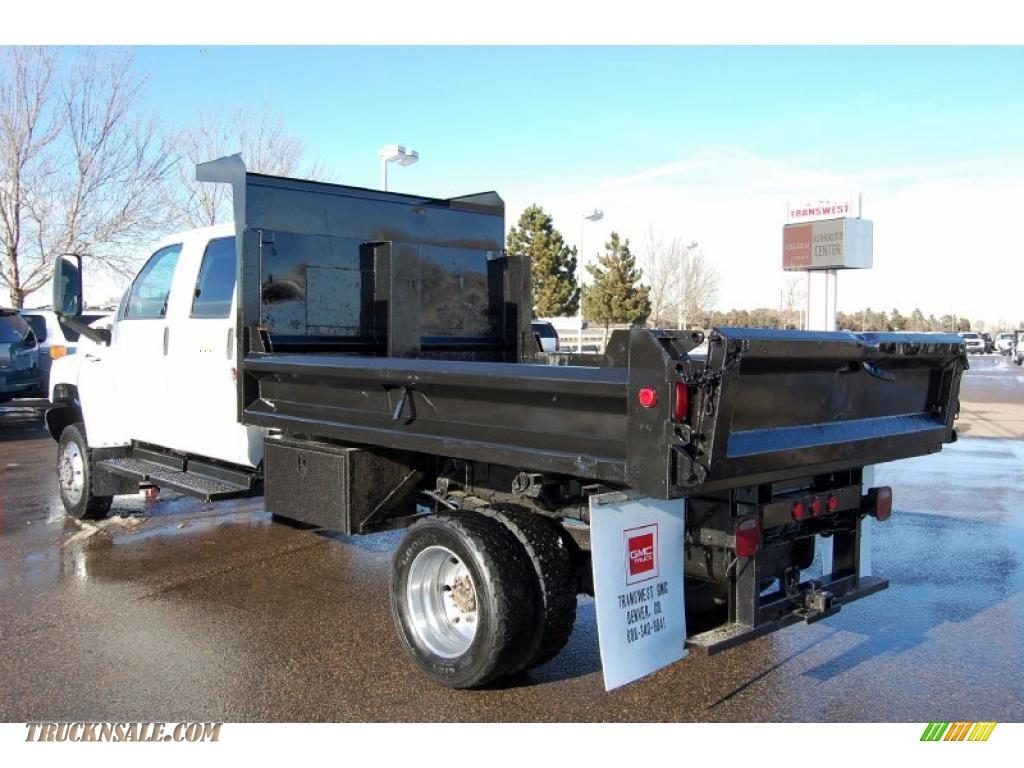 Dump Truck For Sale Gmc C5500 4x4 Topkick Crew Cab Pictures