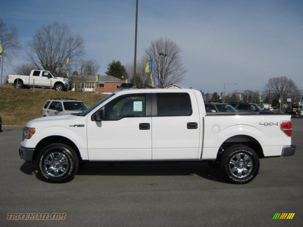 2011 Ford F150 Xlt Supercrew 4x4 In White Platinum