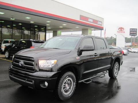 Black 2011 Toyota Tundra TRD Rock Warrior CrewMax 4x4