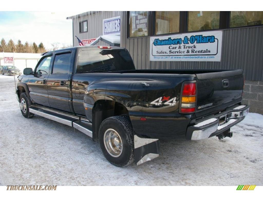 2005 Chevrolet Silverado 3500 Lt Crew Cab 4x4 Dually In