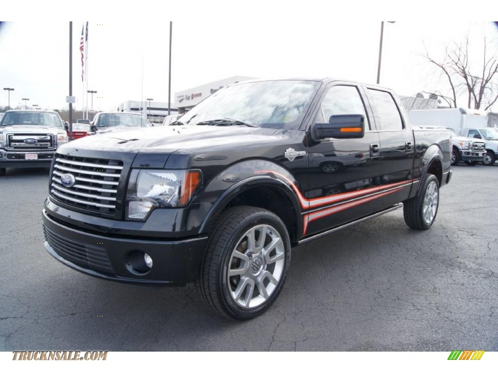 2011 Ford F150 Harley-Davidson SuperCrew 4x4 in Tuxedo Black Metallic