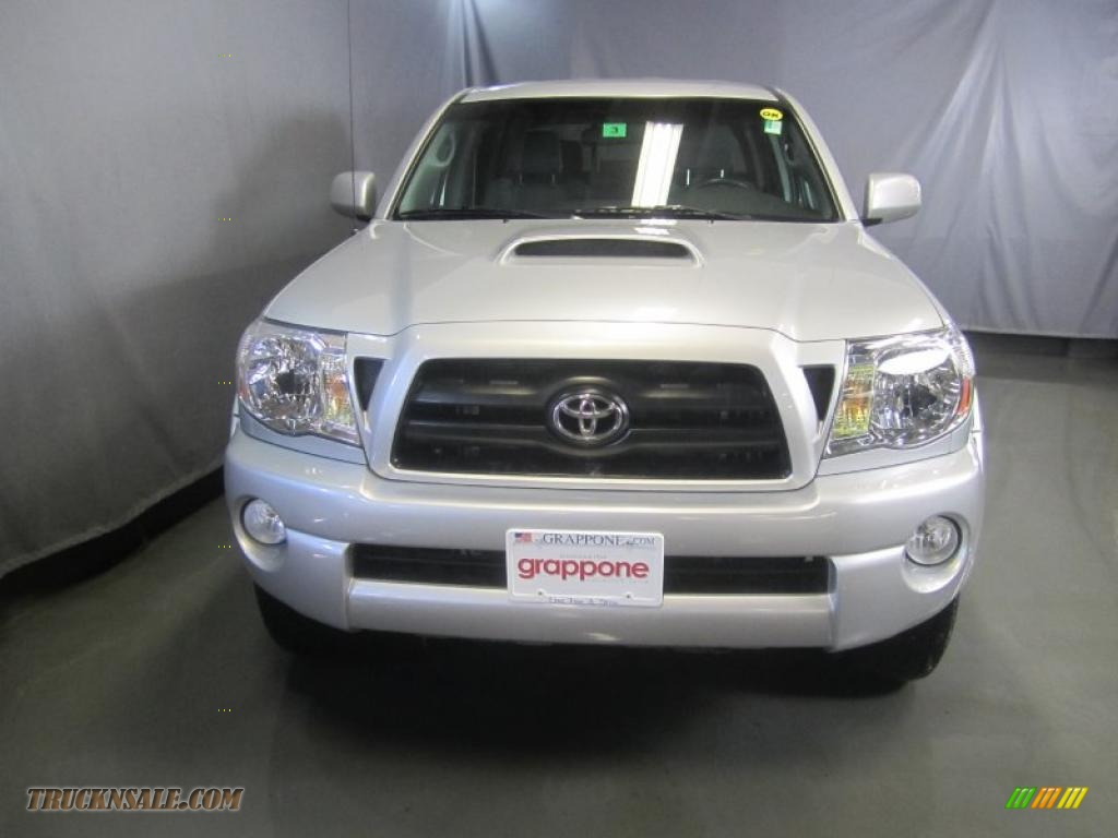 2008 toyota tacoma v6 trd sport double cab 4x4 in silver streak mica photo 2 528982 truck n. Black Bedroom Furniture Sets. Home Design Ideas