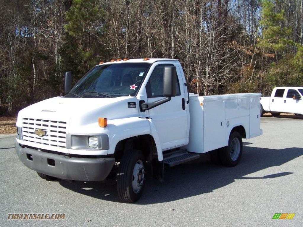 2004 Chevrolet C Series Kodiak C4500 Crew Cab Utility Dump ...