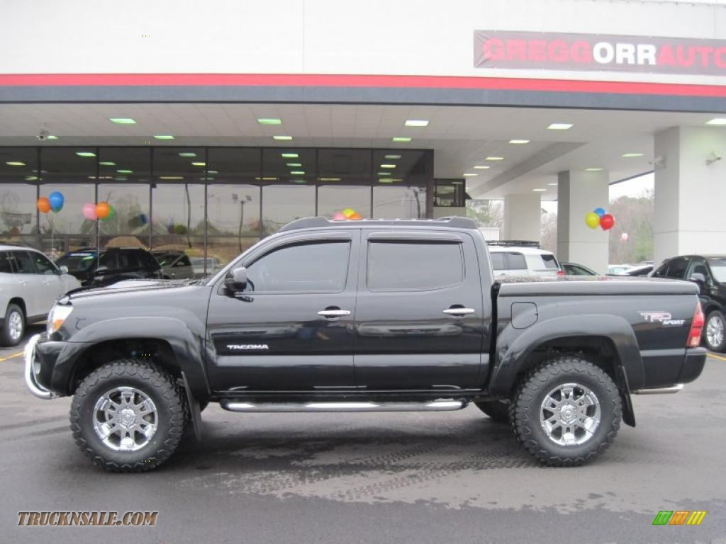 2006 Toyota Tacoma V6 TRD Sport Double Cab 4x4 in Black ...