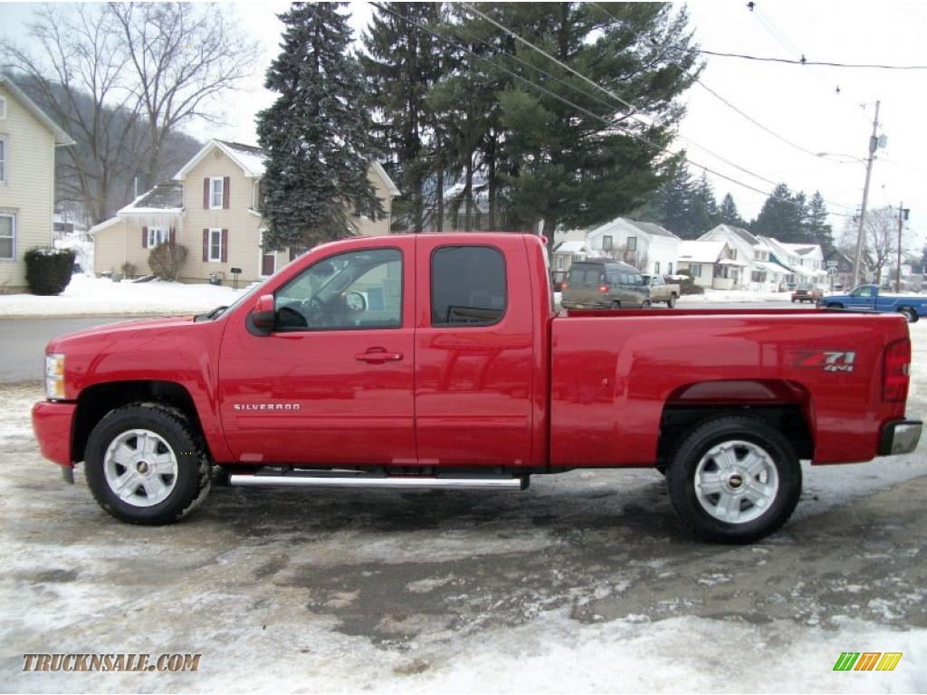 2011 chevrolet silverado 1500 lt extended cab 4x4 in victory red photo 10 257269 truck n 39 sale. Black Bedroom Furniture Sets. Home Design Ideas
