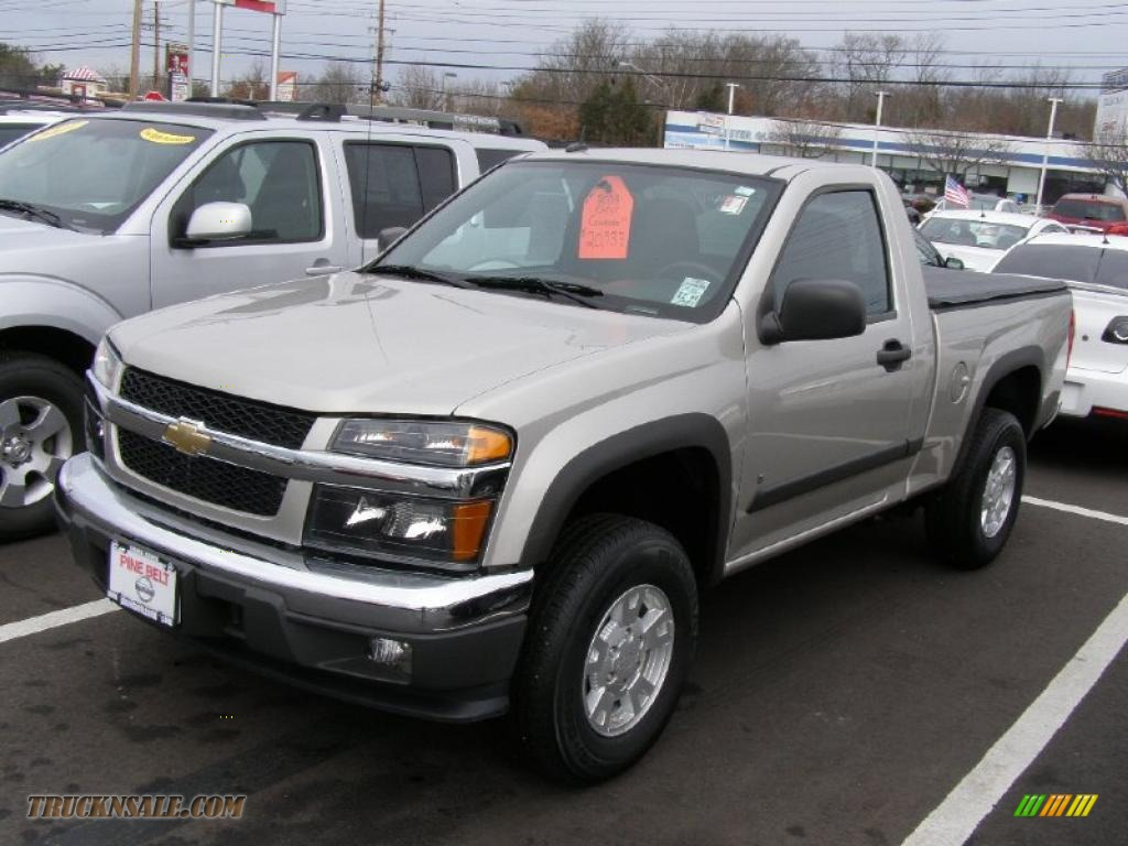2008 chevrolet colorado lt regular cab 4x4 in silver birch metallic 150075 truck n 39 sale. Black Bedroom Furniture Sets. Home Design Ideas