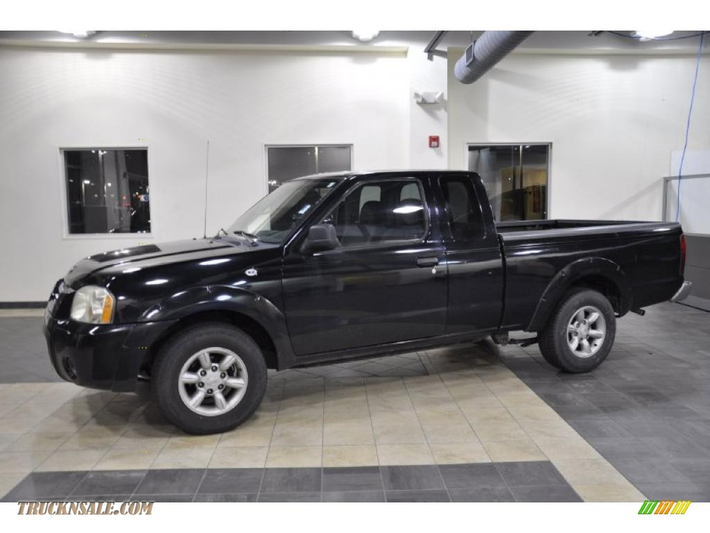 2004 nissan frontier xe king cab in super black 402203 truck n super black charcoal nissan frontier xe king cab vanachro Images