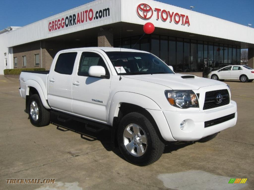 2011 Toyota Tacoma V6 Trd Sport Double Cab 4x4 In Super