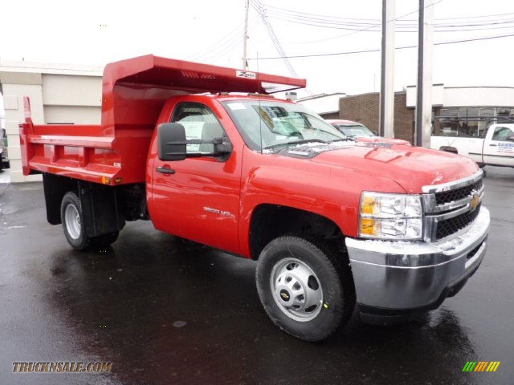 Pine Belt Chevy >> 2011 Chevrolet Silverado 3500HD Regular Cab Chassis Dump Truck in Victory Red - 145981 | Truck N ...