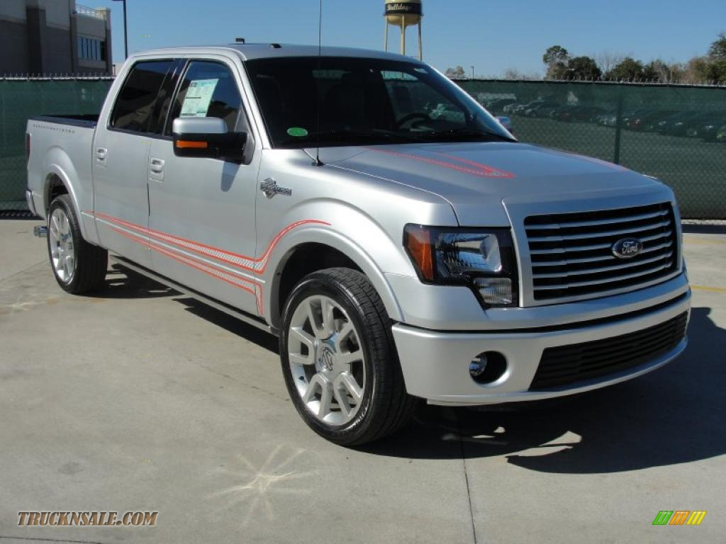 2011 Ford F150 Harley Davidson Supercrew In Ingot Silver Metallic 2014 F 150 Black Smoke