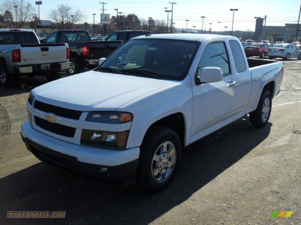 2011 chevrolet colorado lt extended cab in summit white. Black Bedroom Furniture Sets. Home Design Ideas
