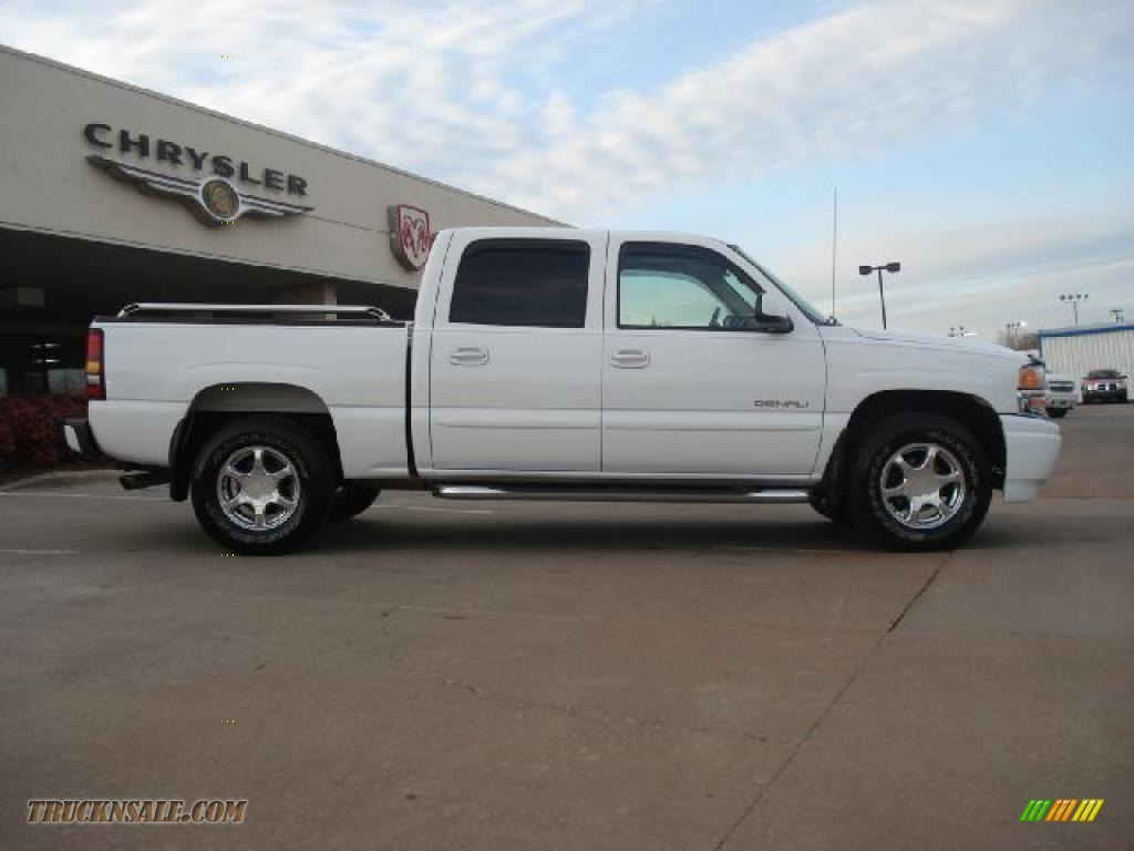 2006 gmc sierra 1500 denali crew cab 4wd in summit white for Steve white motors inc