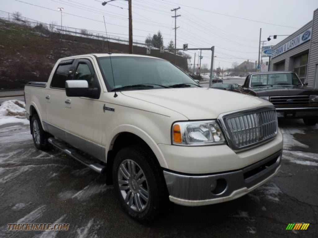 2007 lincoln mark lt supercrew 4x4 in white chocolate tri coat j11549 truck n 39 sale. Black Bedroom Furniture Sets. Home Design Ideas