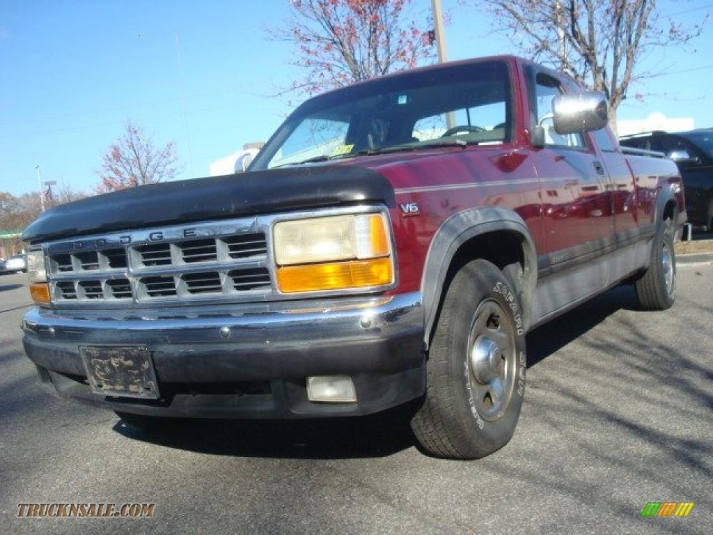 Mall Of Georgia Dodge >> 1996 Dodge Dakota SLT Extended Cab in Claret Red Pearl ...