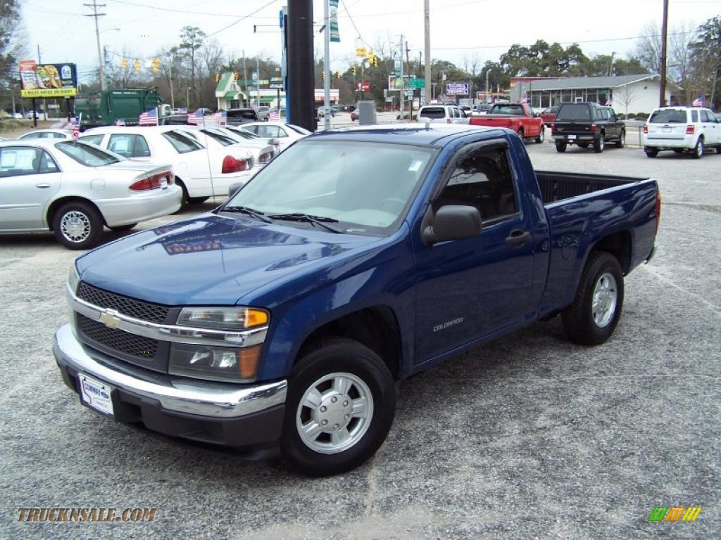 2005 chevrolet colorado ls regular cab in superior blue metallic 222899 truck n 39 sale. Black Bedroom Furniture Sets. Home Design Ideas