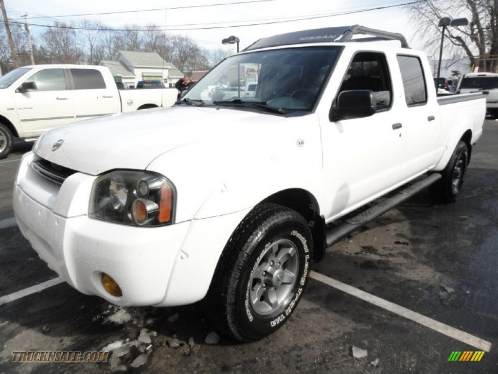 2004 nissan frontier xe v6 crew cab 4x4 in avalanche white photo 7 442112 truck n 39 sale. Black Bedroom Furniture Sets. Home Design Ideas