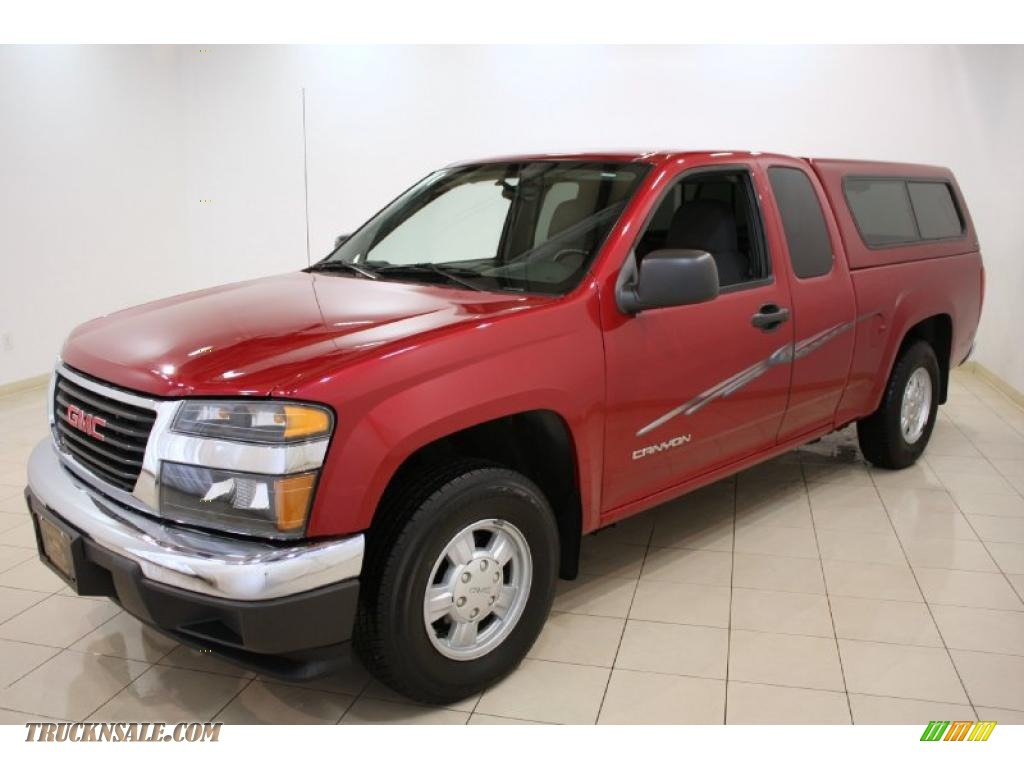 2005 GMC Canyon SL Extended Cab in Cherry Red Metallic ...