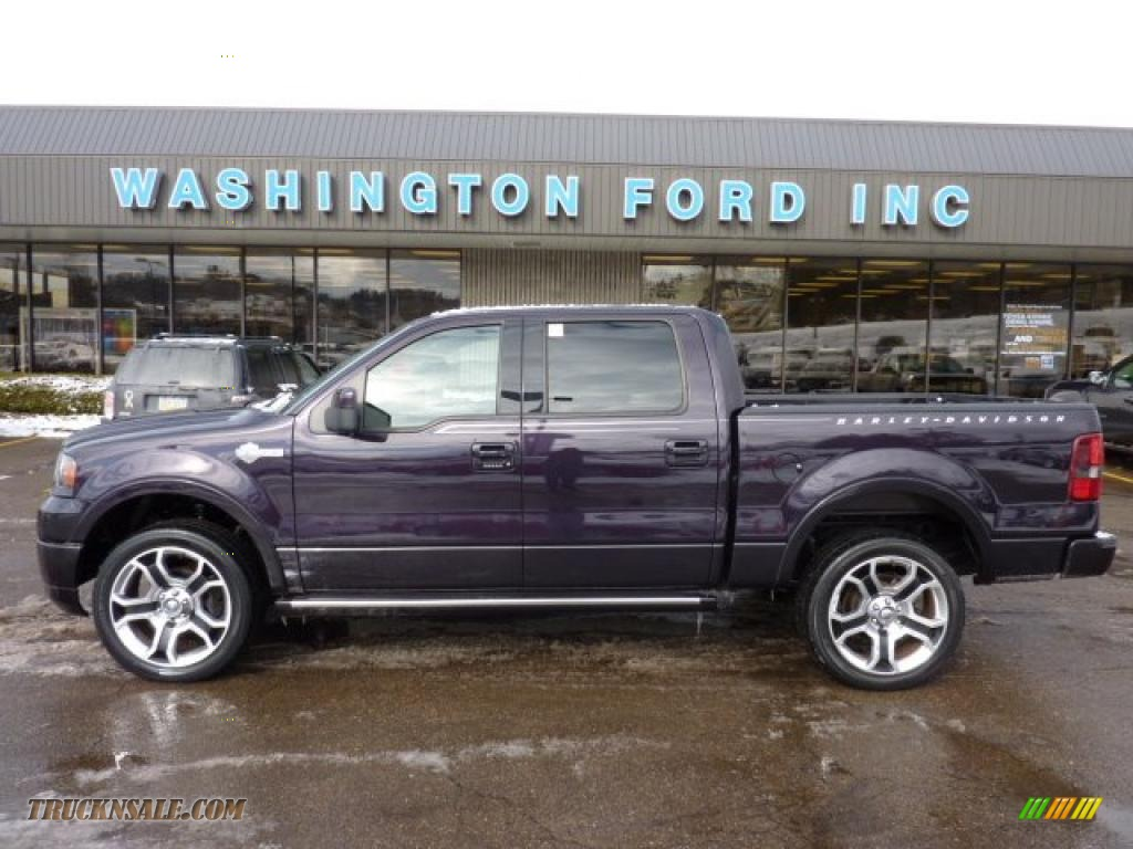 Dark Amethyst / Black Ford F150 Harley-Davidson SuperCrew 4x4