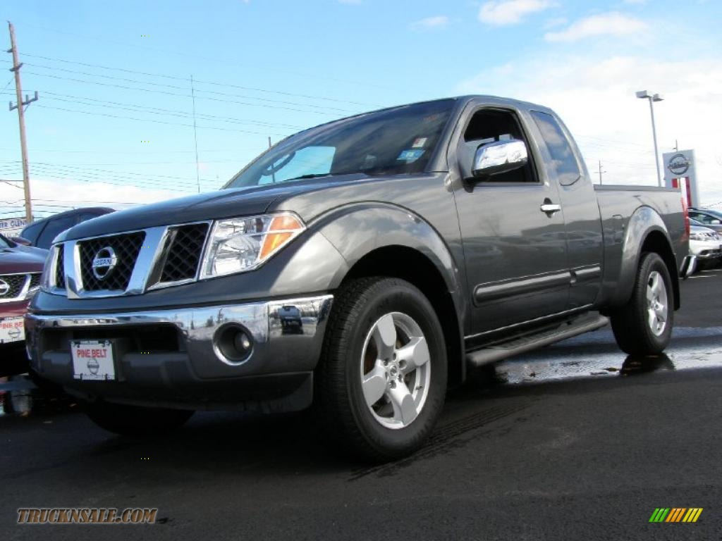 2006 nissan frontier le king cab 4x4 in storm gray 448164 truck n 39 sale. Black Bedroom Furniture Sets. Home Design Ideas